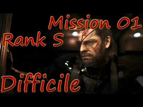 MGSV: Ground Zeroes - Mission 01 Rank S Difficile - Ground Zeroes