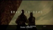 Metal Gear Solid 3 Snake Eater Montage Death Screen Ending (Bloopers & Glitches)