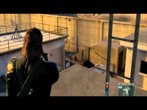 Metal Gear Solid 5 MGS V GZ Snake On Roof Tops