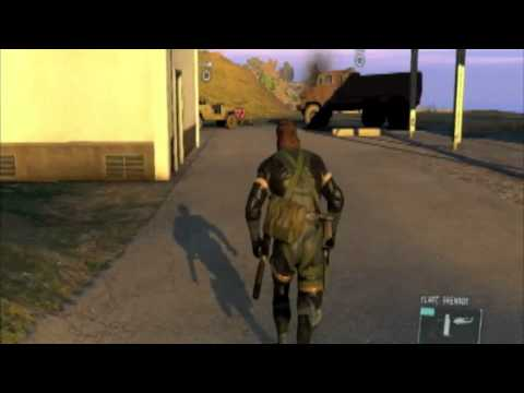 Metal Gear Solid 5 MGS V GZ  Soldiers Out Of Map