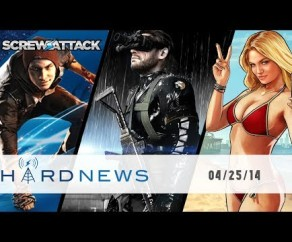 GTA V jet packs, MGS V free content, and PlayStation's Road to Greatness | Hard News | ScrewAttack!