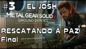 Metal Gear Solid V Ground Zeroes #3 Rescatando a Paz Final Full Hd Ultra settings